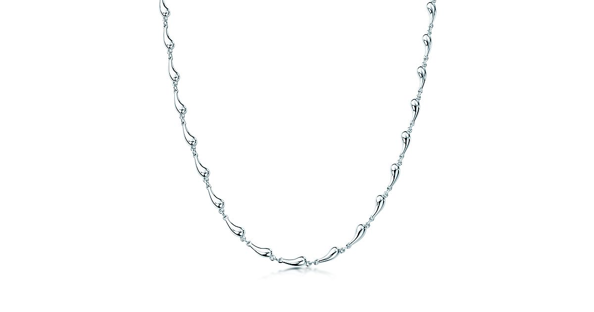 simple copy raindrop ns diamond of charm grande layered dainty charis bar products jewel cz necklace delicate new curved