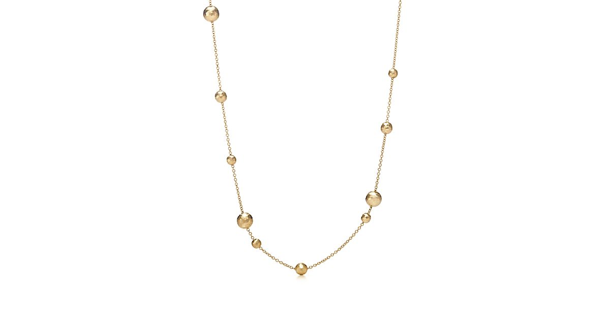 Hammered Bead Necklace by Paloma Picasso®