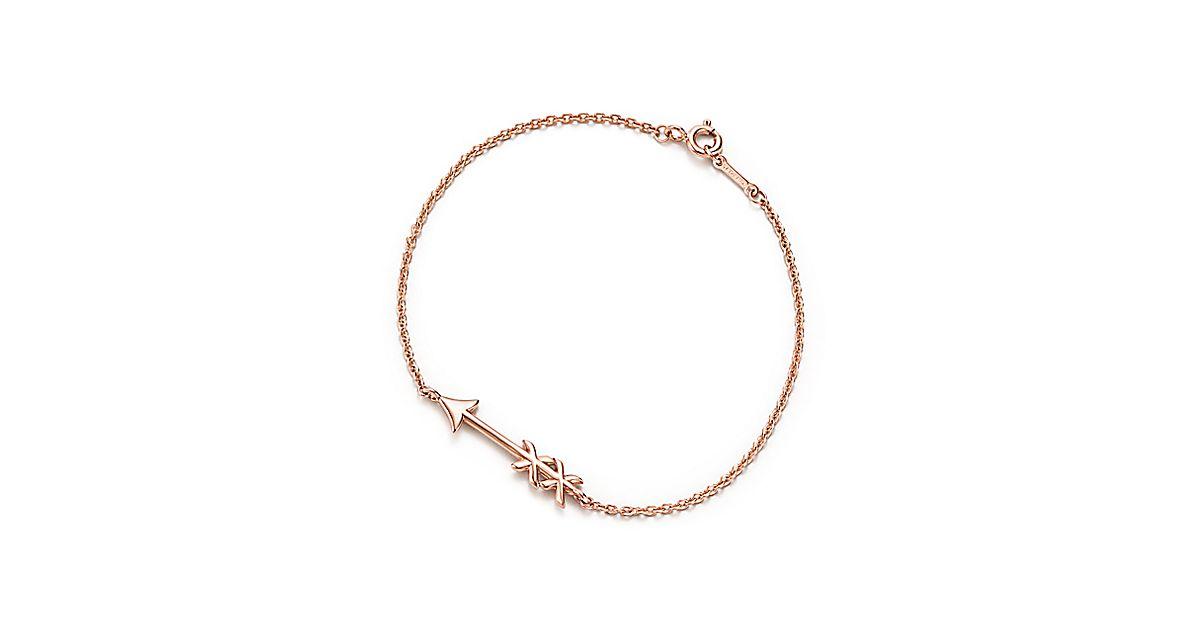 2aad3e4c543a Paloma S Graffiti Arrow Bracelet In 18k Rose Gold Small Tiffany