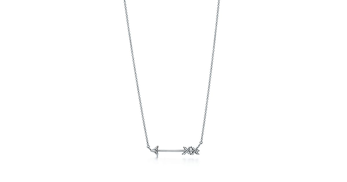 silver arrow necklace format necklaces studios valocity