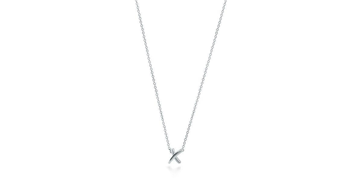 Palomas Graffiti kiss pendant in sterling silver Tiffany & Co. IgonE