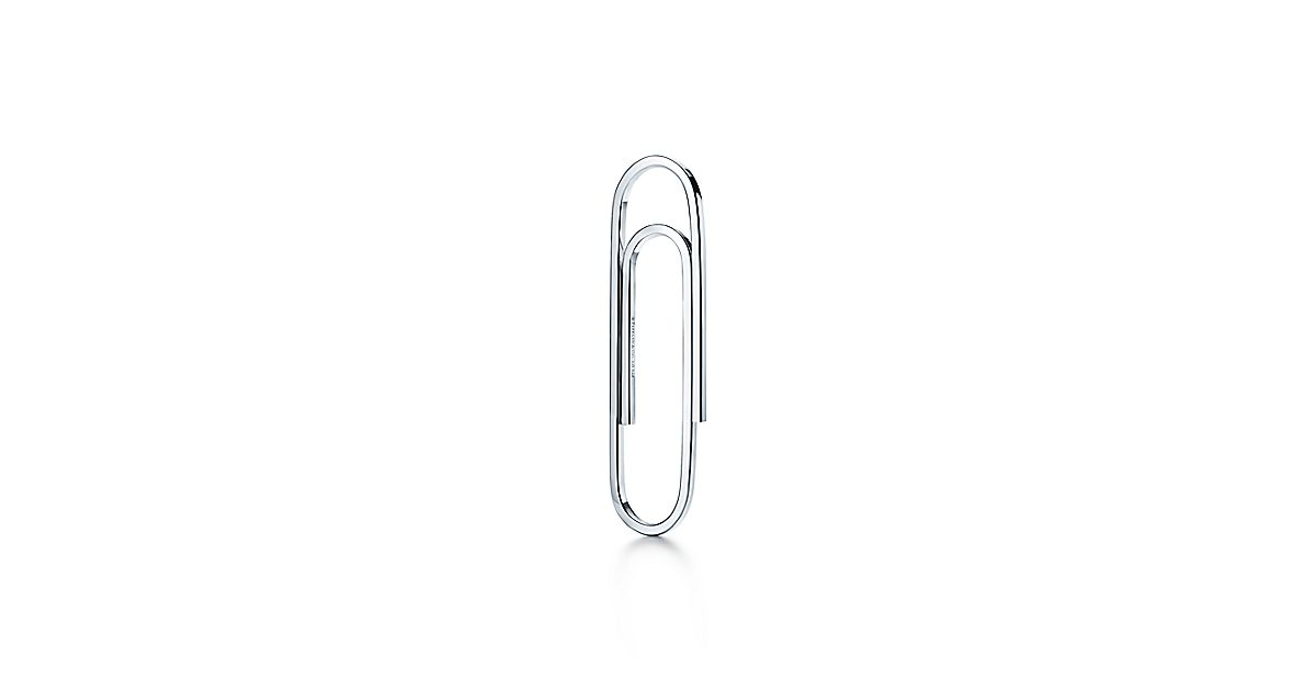 Paper Clip Bookmark In Sterling Silver Tiffany Amp Co