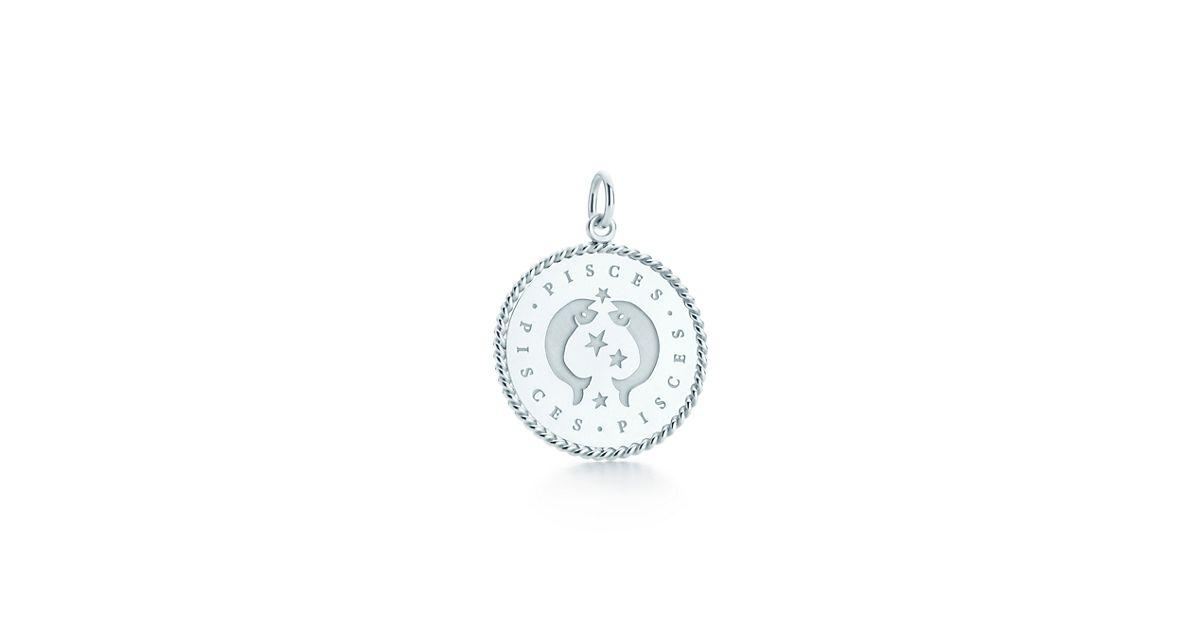 Pisces zodiac charm in sterling silver - Size Pisces Tiffany & Co. SchOtZ2