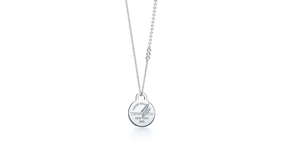 Beginnings Lightning Bolt Necklace - Silver Silver (Colour) 30uWH0SG