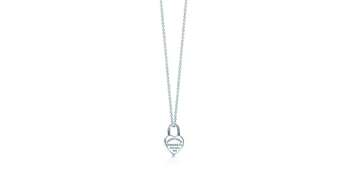 Return to tiffany mini heart lock pendant in sterling silver return to tiffany mini heart lock pendant in sterling silver tiffany co aloadofball Gallery