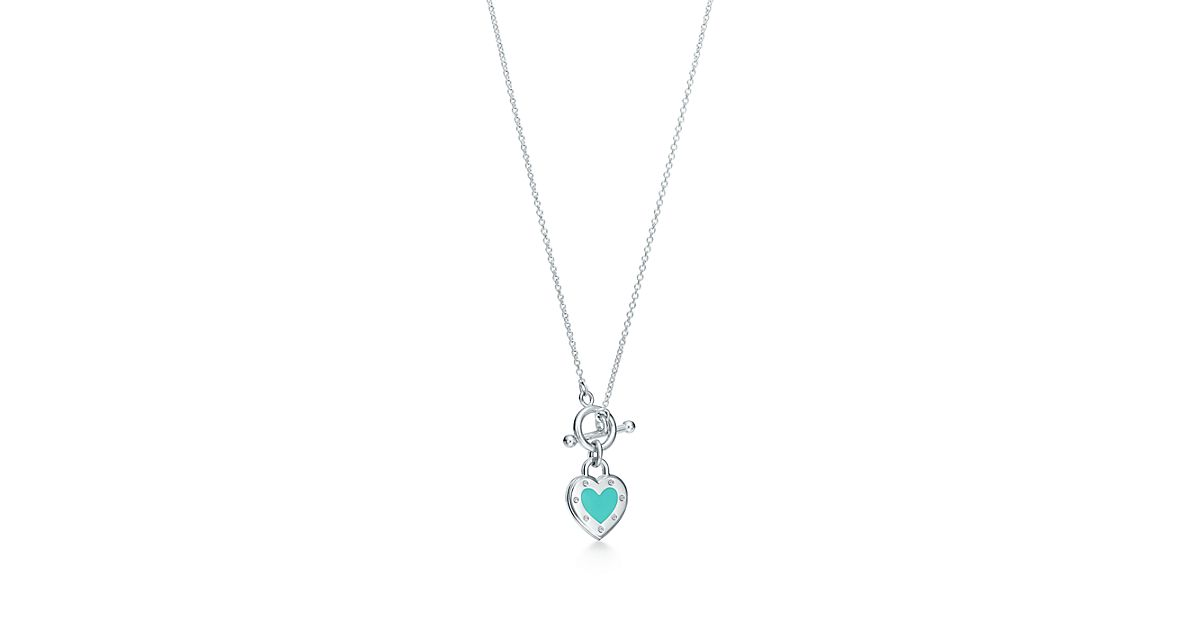 Love Heart Toggle Pendant by Return To Tiffany®