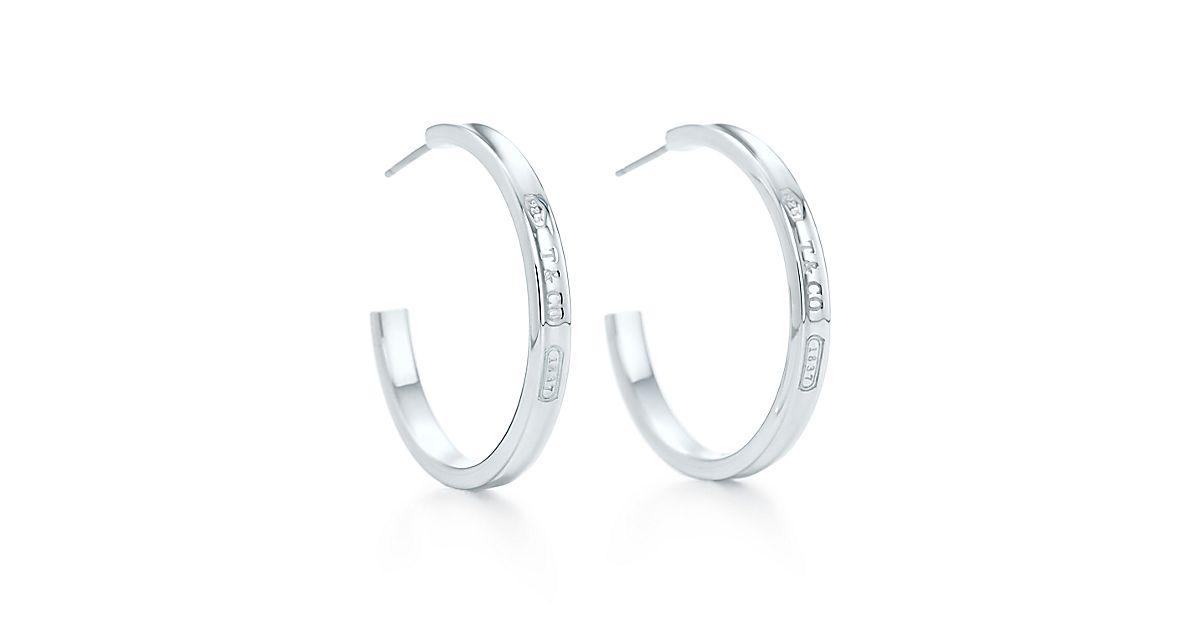 b18c2dc81 Tiffany Co 1837 Square Hoop Earrings - The Best Produck Of Earring