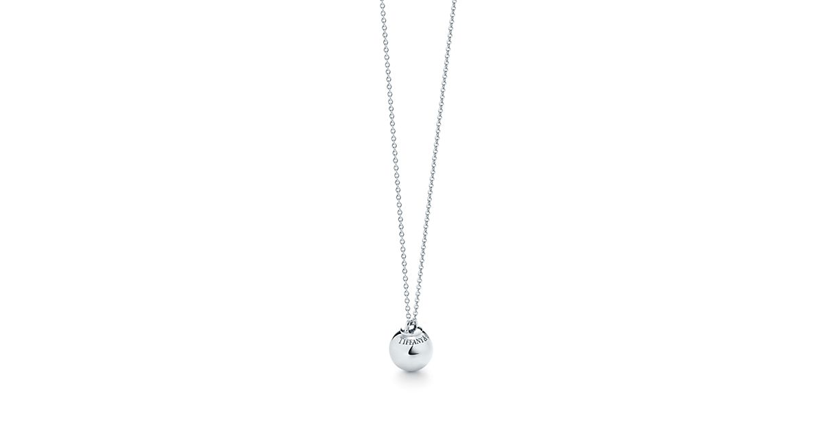 Ville Tiffany Hardwear Pendentif Boule En Argent Sterling - Taille 12,75 Mm Tiffany & Co.