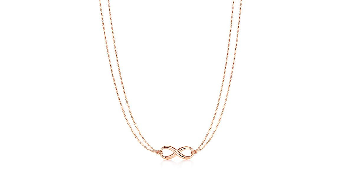 Tiffany infinity pendant in 18k rose gold tiffany co aloadofball Image collections