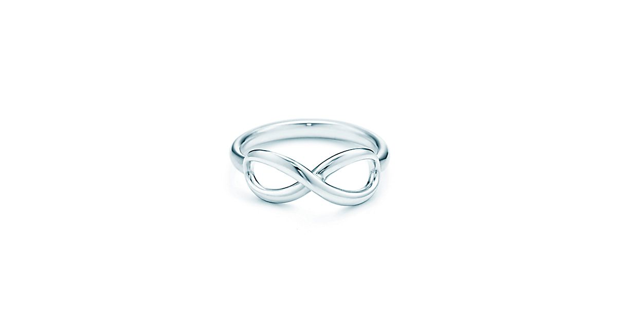 Tiffany Infinity Sterling Silver Ring Tiffany Co
