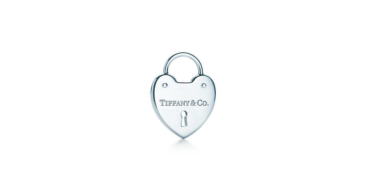 Tiffany Locks heart lock in sterling silver, medium Tiffany & Co.