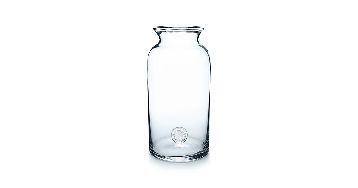 Tiffany Seal Vase In Lead Crystal Large Tiffany Co