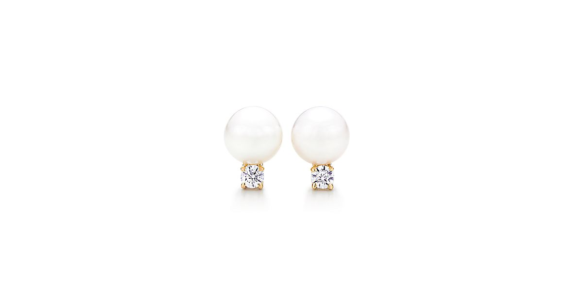aaa cultured white set gold plated setting pearl com earrings akoya stud amazon earring pearls dp