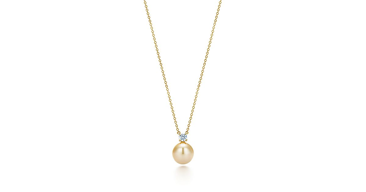 product mo momento pendant in gold sea south pearl petite jewelry yellow