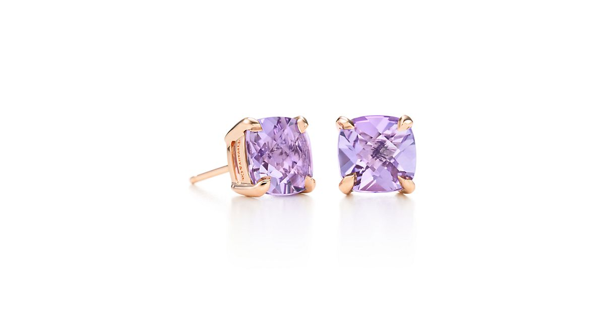 Lavender Amethyst Earrings by Tiffany Sparklers