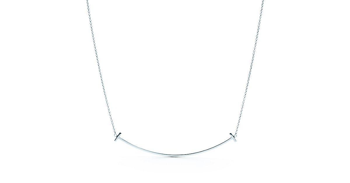 Tiffany t smile pendant in sterling silver tiffany co aloadofball Gallery