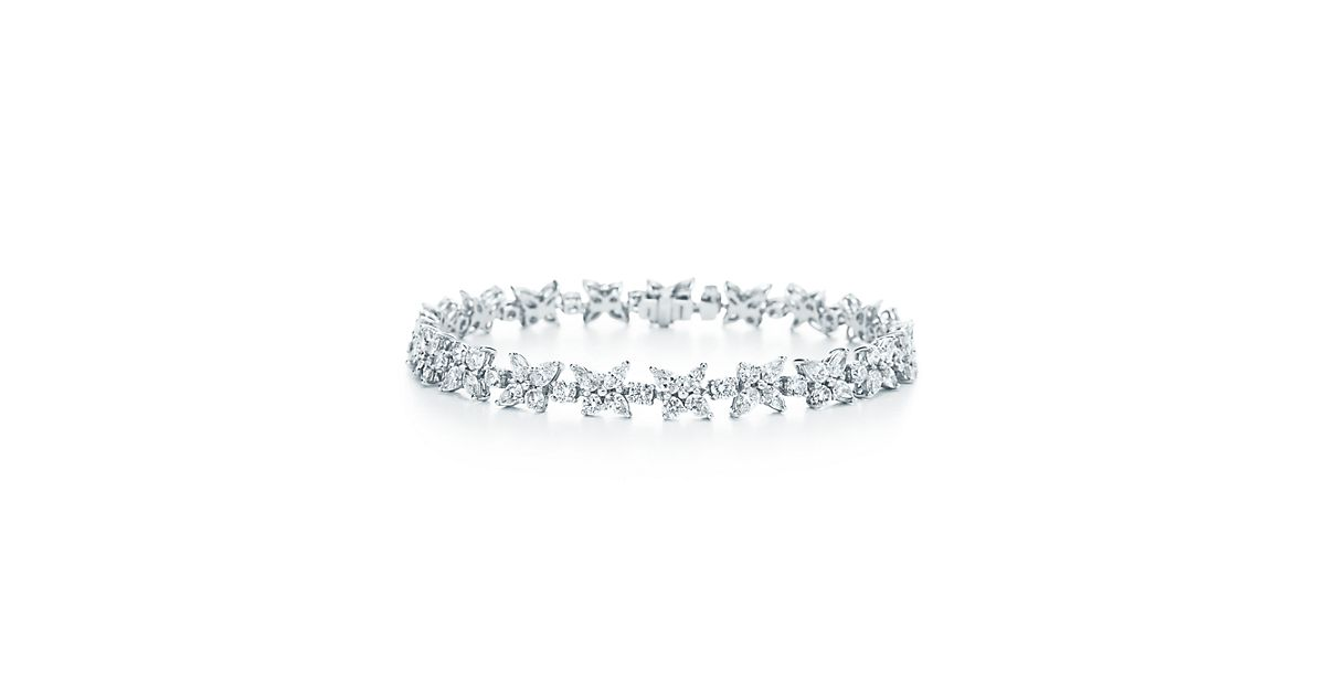 Mixed Cluster Bracelet by Tiffany Victoria®