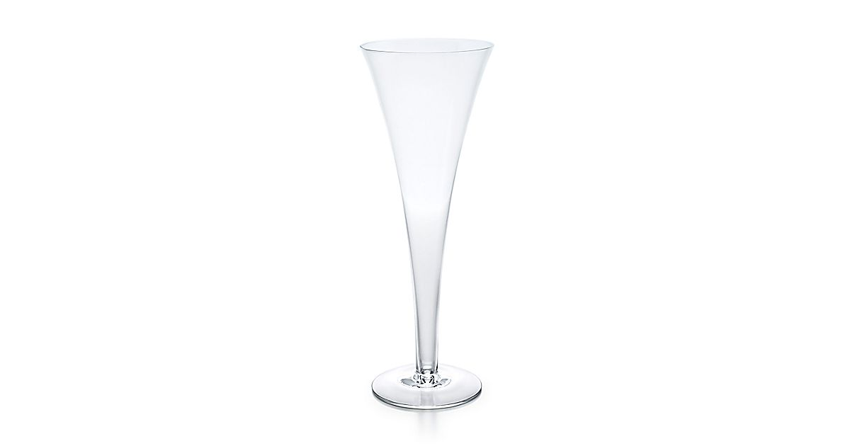 Trumpet Champagne Flute In Crystal Tiffany Co
