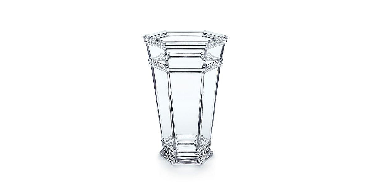 Windham Vase In Crystal Tiffany Co