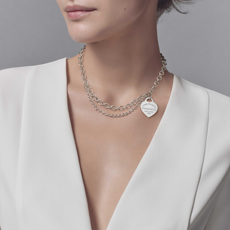 bc8527b9a Return To Tiffany Heart Tag Pendant Medium - Pendant Design Ideas