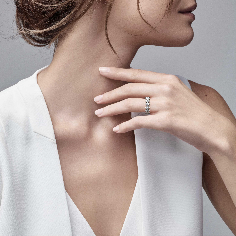 Tiffany Aria Ring Model Shot 1