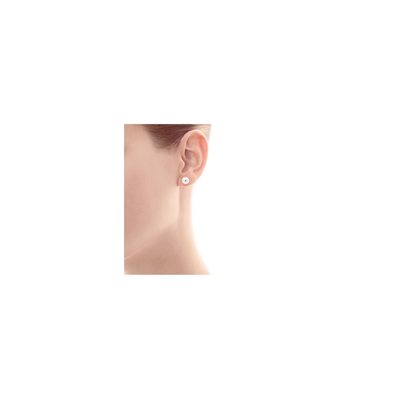 Tiffany Hardwear Ball Earrings Model Shot 1