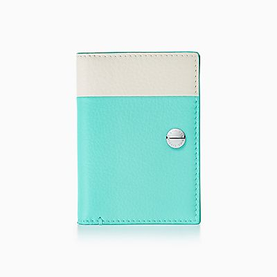 Passport cover in saddle smooth calfskin leather Tiffany & Co. ytN8AKbZ