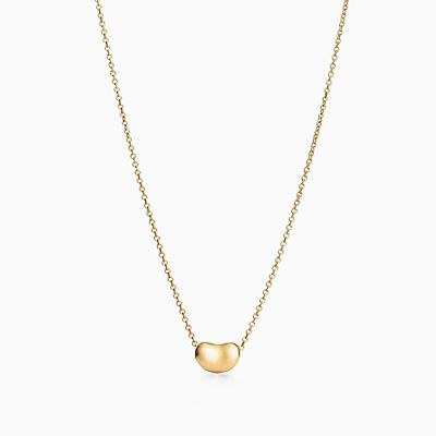 Elsa Peretti Snake pendant in 18k gold with green jade Tiffany & Co. 6dfBy