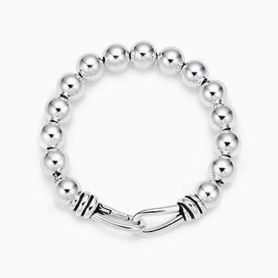 Paloma Perle Bracelet Noeud Picasso En Argent Avec Cordon De Bœuf Quartz - Taille Moyenne Tiffany & Co. elHyy