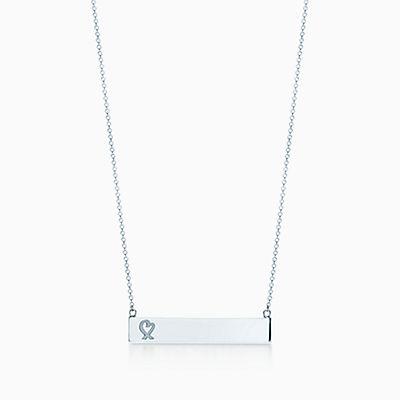 Paloma Bar Coeur Picasso Amour Pendentif En Or Rose 18 Carats Avec Un Diamant Tiffany & Co. mQFFCuGB