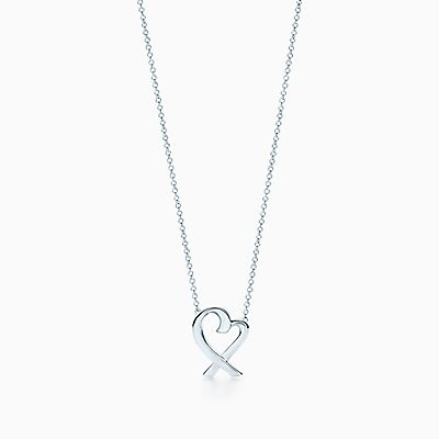 Paloma picasso jewelry shop paloma picasso tiffany co paloma picasso loving heart pendant in sterling silver small aloadofball Image collections
