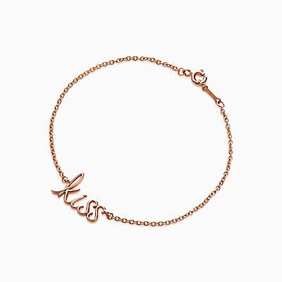 Palomas Graffiti arrow bracelet in 18k rose gold, medium Tiffany & Co.