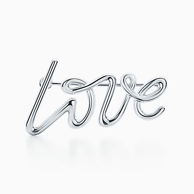 Palomas Graffiti love & kisses cuff in sterling silver, small Tiffany & Co.