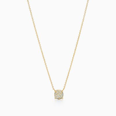 Sucre Palomas Piles Pendentif En Or Blanc 18 Carats Avec Saphirs Tiffany & Co. JGi4q3g