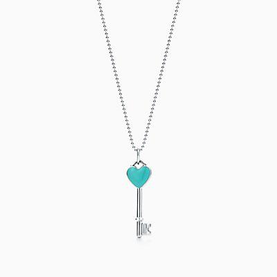 Tiffany Keys crown key pendant in sterling silver Tiffany & Co. 9SjU7NE