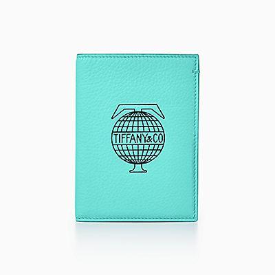 38422b2b22a9b Tiffany Travel passport cover in Tiffany Blue® leather.