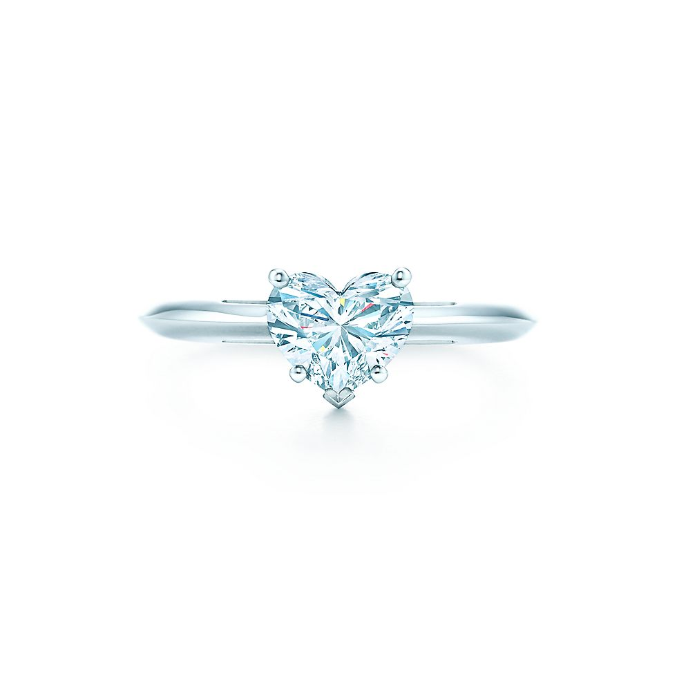 Heart Shaped Diamond En Ement Ring