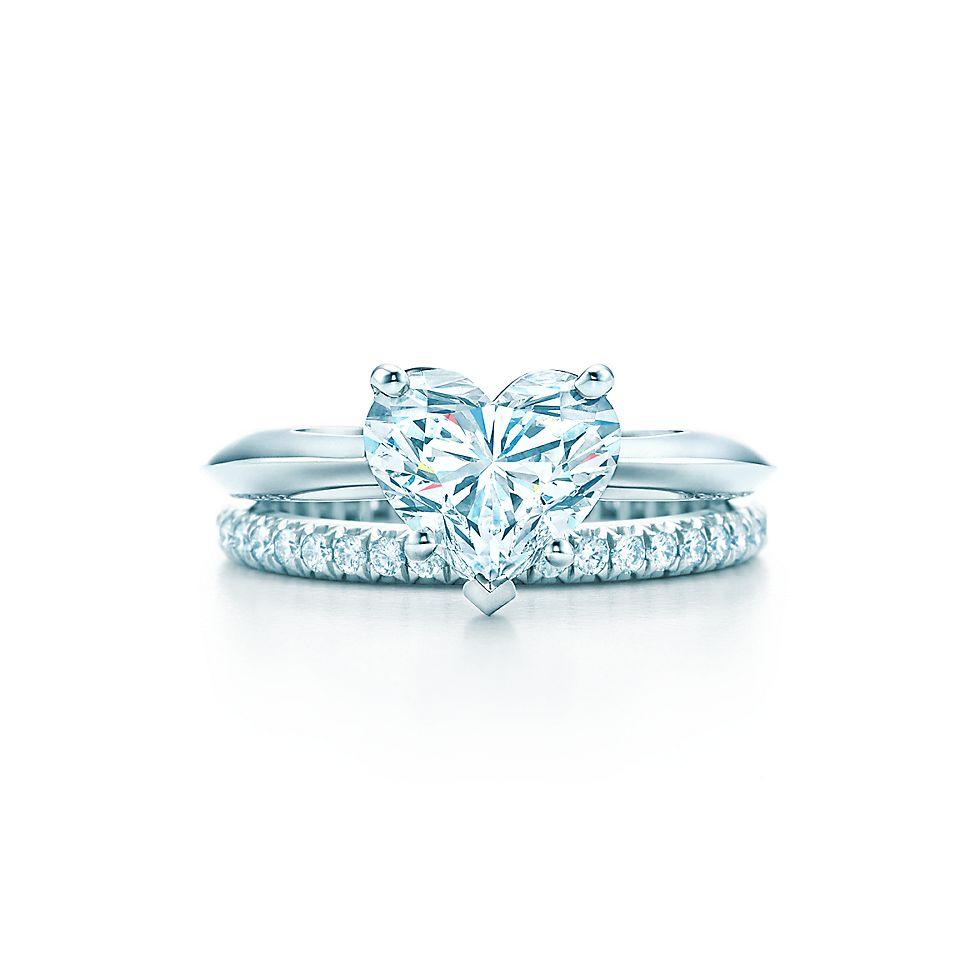 Heart Shaped Diamond Engagement Rings | Tiffany & Co.