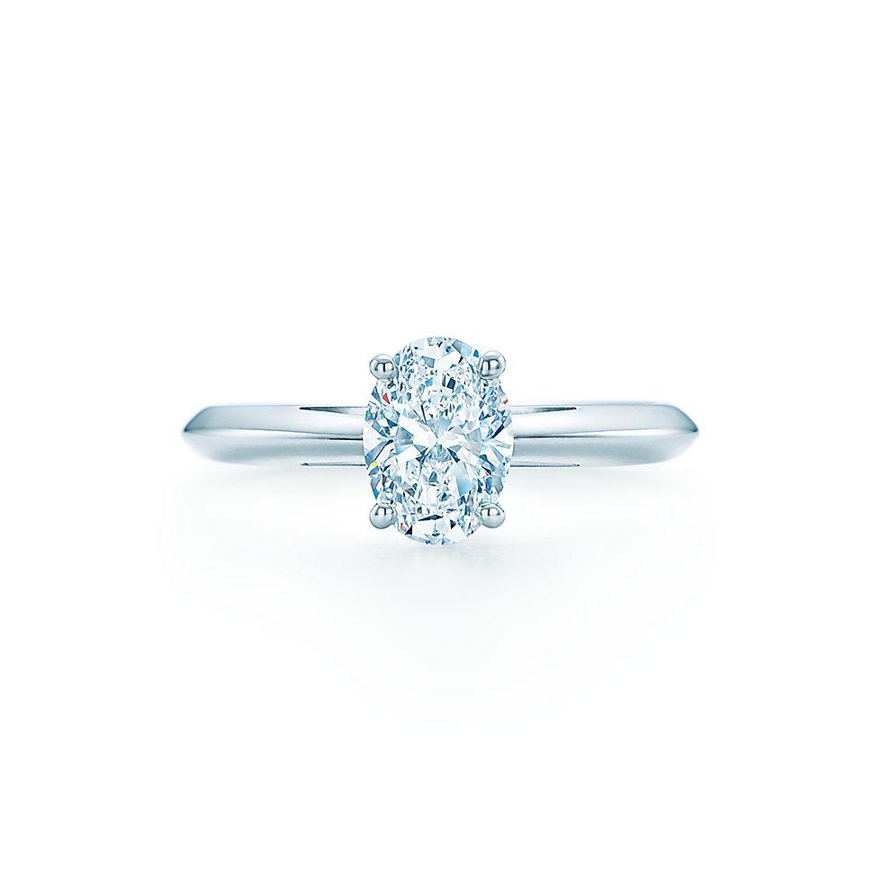 Oval Cut Diamond Engagement Rings Tiffany Co