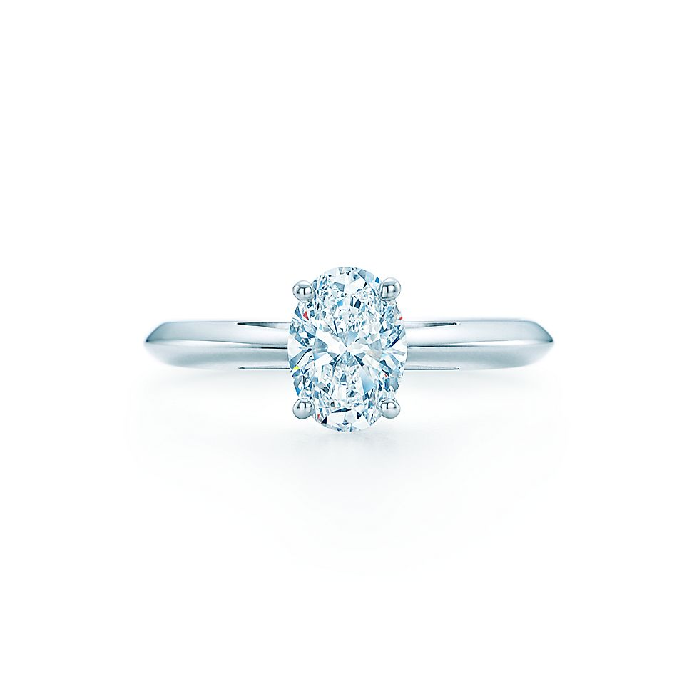 tiffany soleste oval engagement shown with ct band rings wedding co