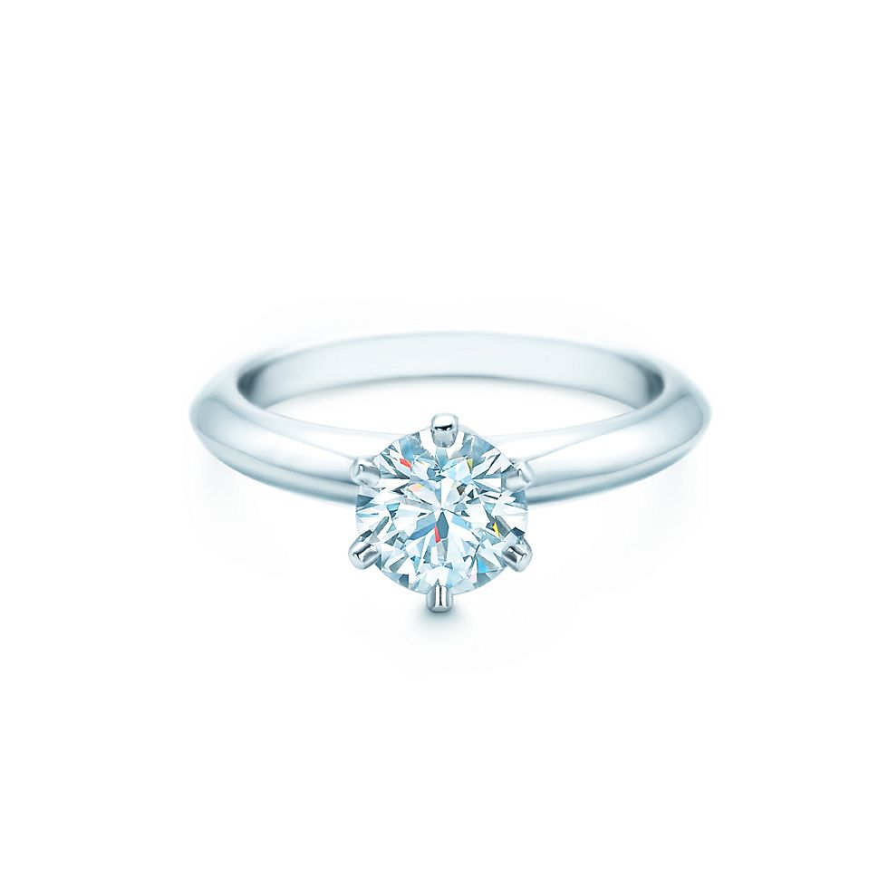 The Flagship Engagement Ring from Tiffany