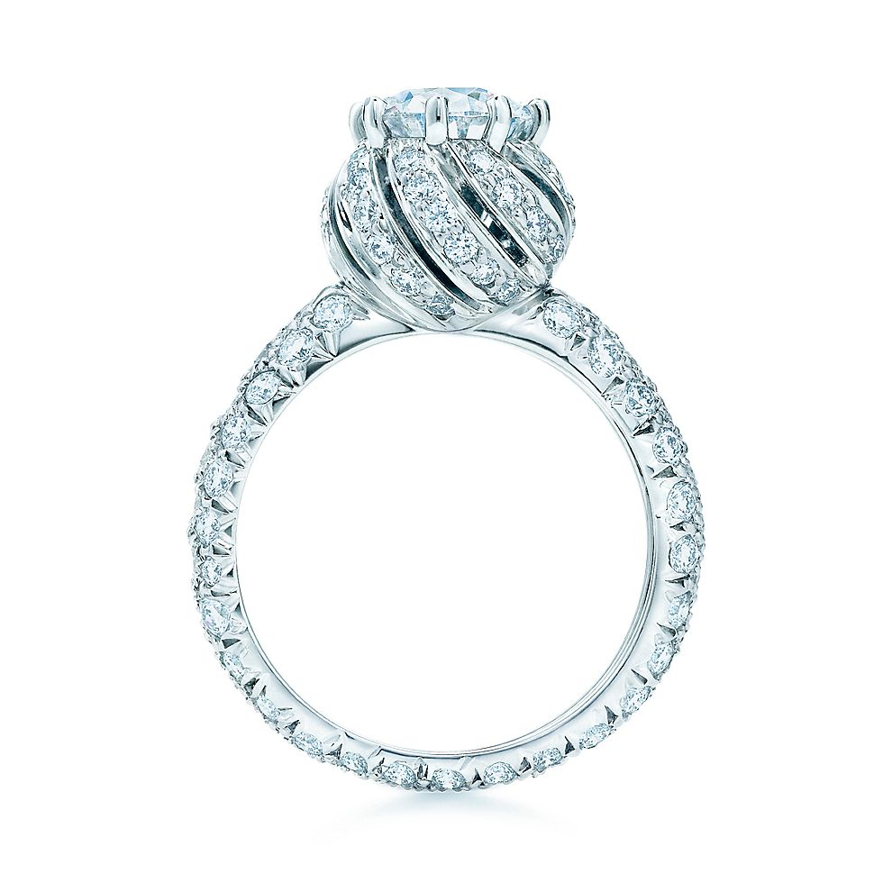 Tiffany Co Schlumberger Buds Engagement Rings Tiffany Co