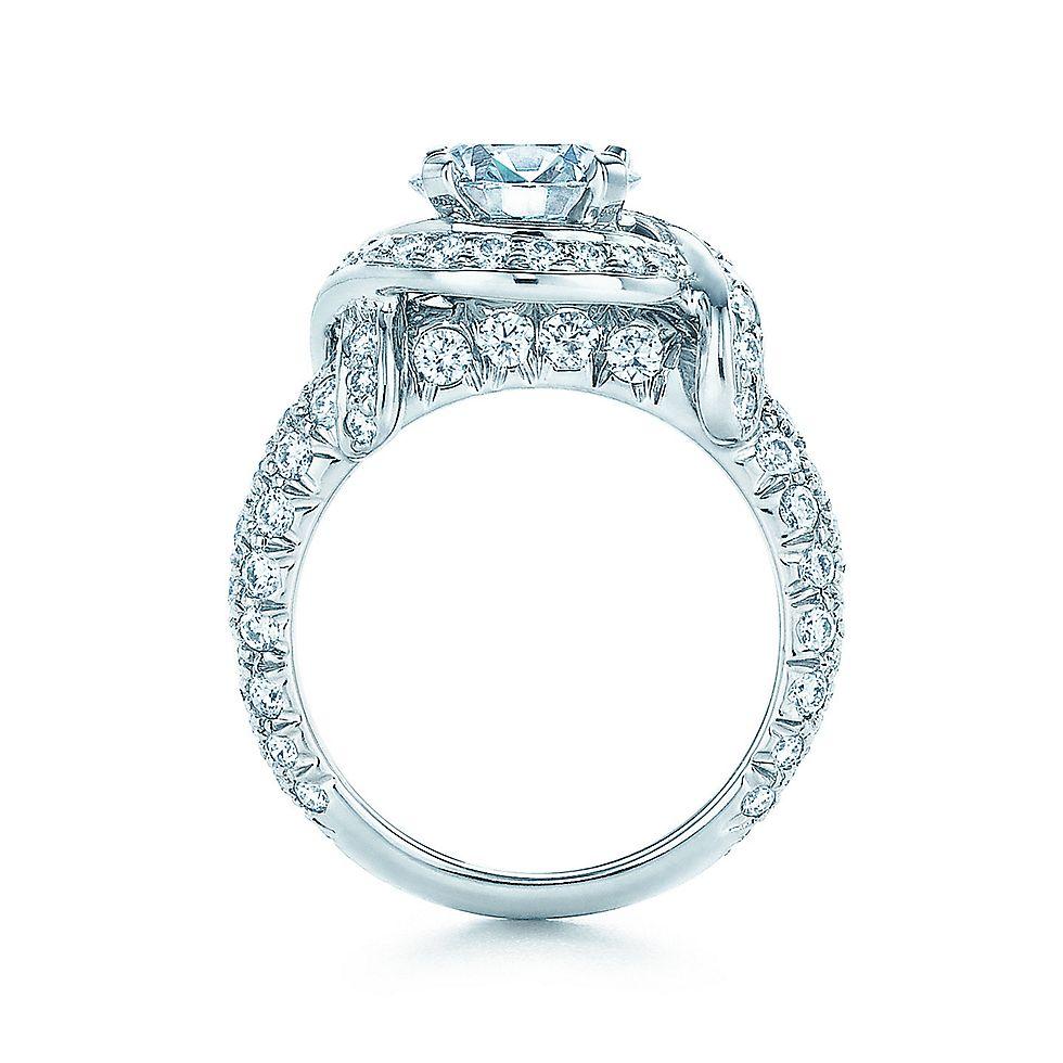 Tiffany Co Schlumberger Diamond Band Engagement Rings Tiffany