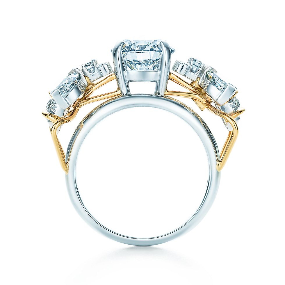 Tiffany & Co. Schlumberger® Two Bees Ring Engagement Rings | Tiffany ...