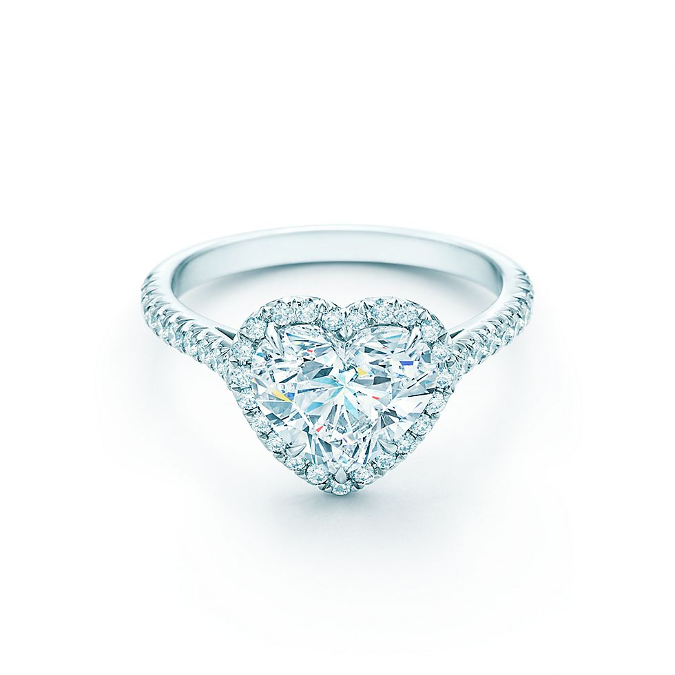 Heart Shaped Diamond Engagement Rings Tiffany Co