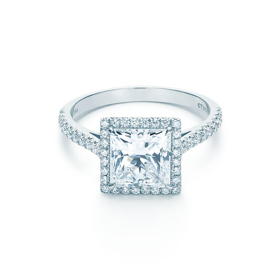 tiffany co princess cut engagement ring silver tiffany ring. Black Bedroom Furniture Sets. Home Design Ideas