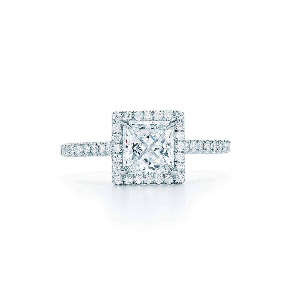 Tiffany Soleste Princess Cut Verlobungsringe Tiffany Co