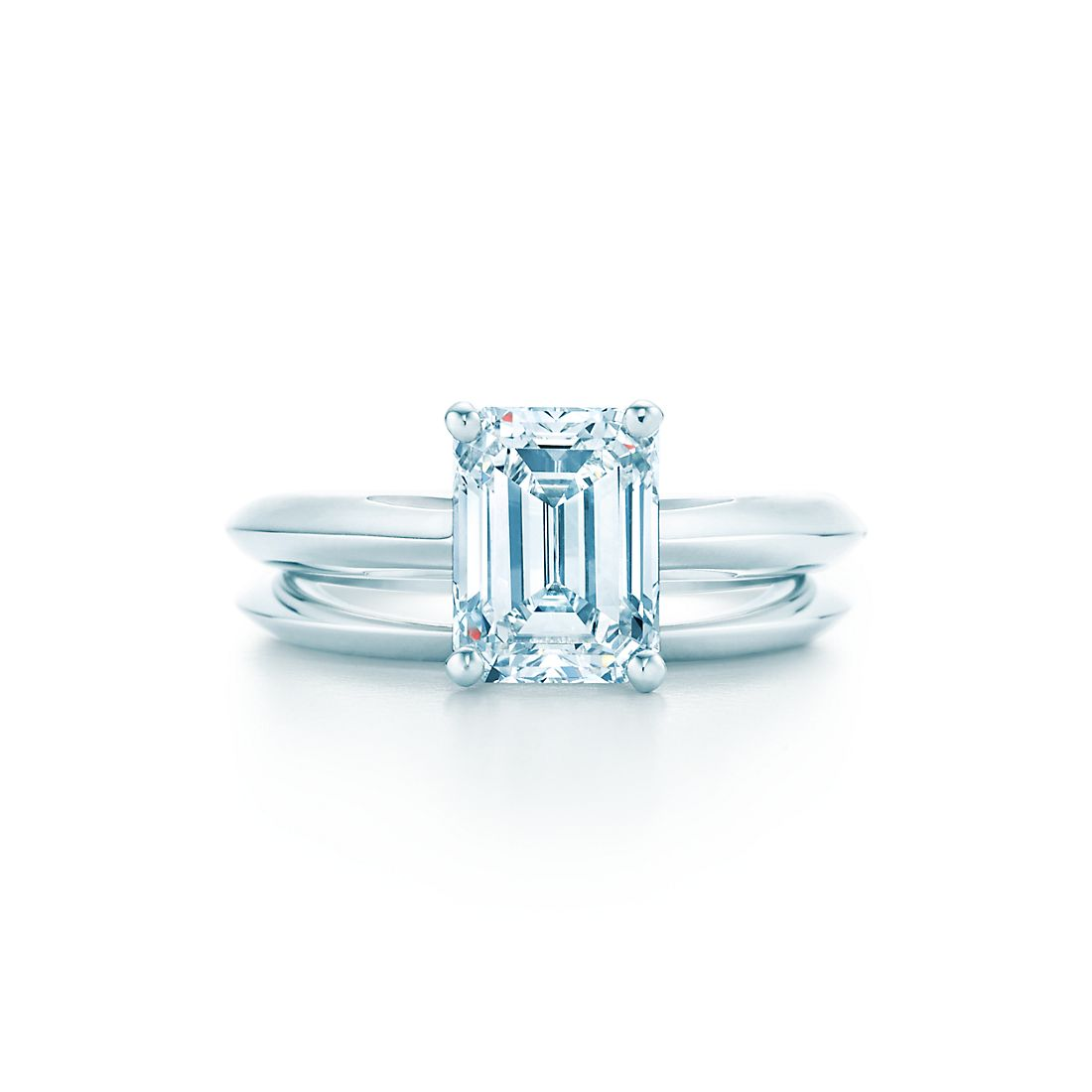 Emerald Cut Diamond Engagement Rings Tiffany Co