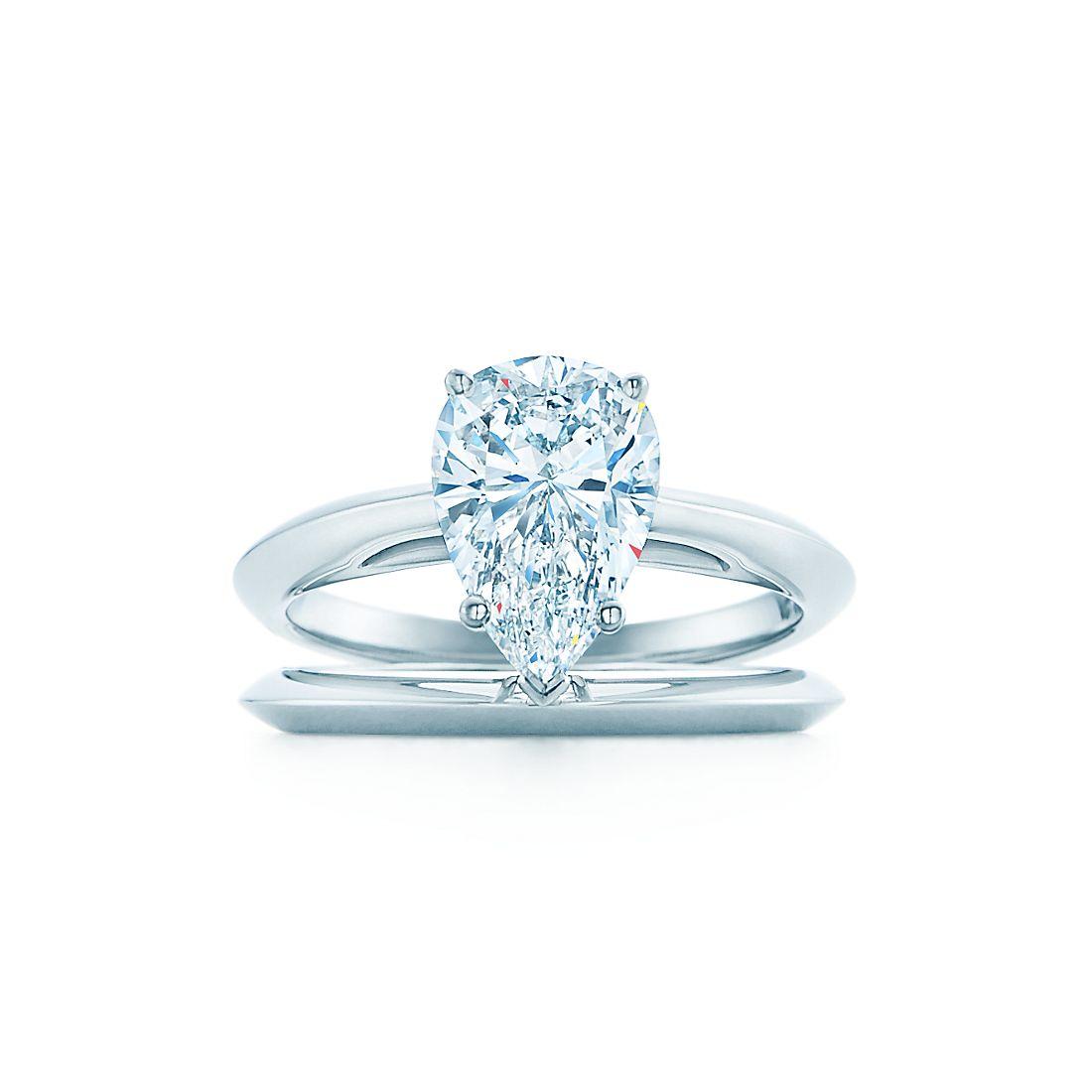 Pear Shaped Diamond Engagement Rings Tiffany Co