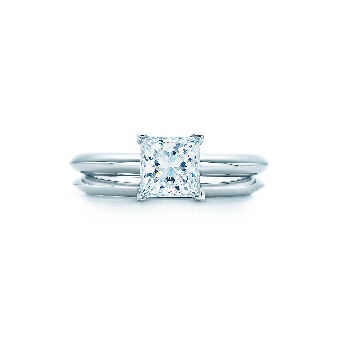 Prinzess Schliff Verlobungsringe Tiffany Co